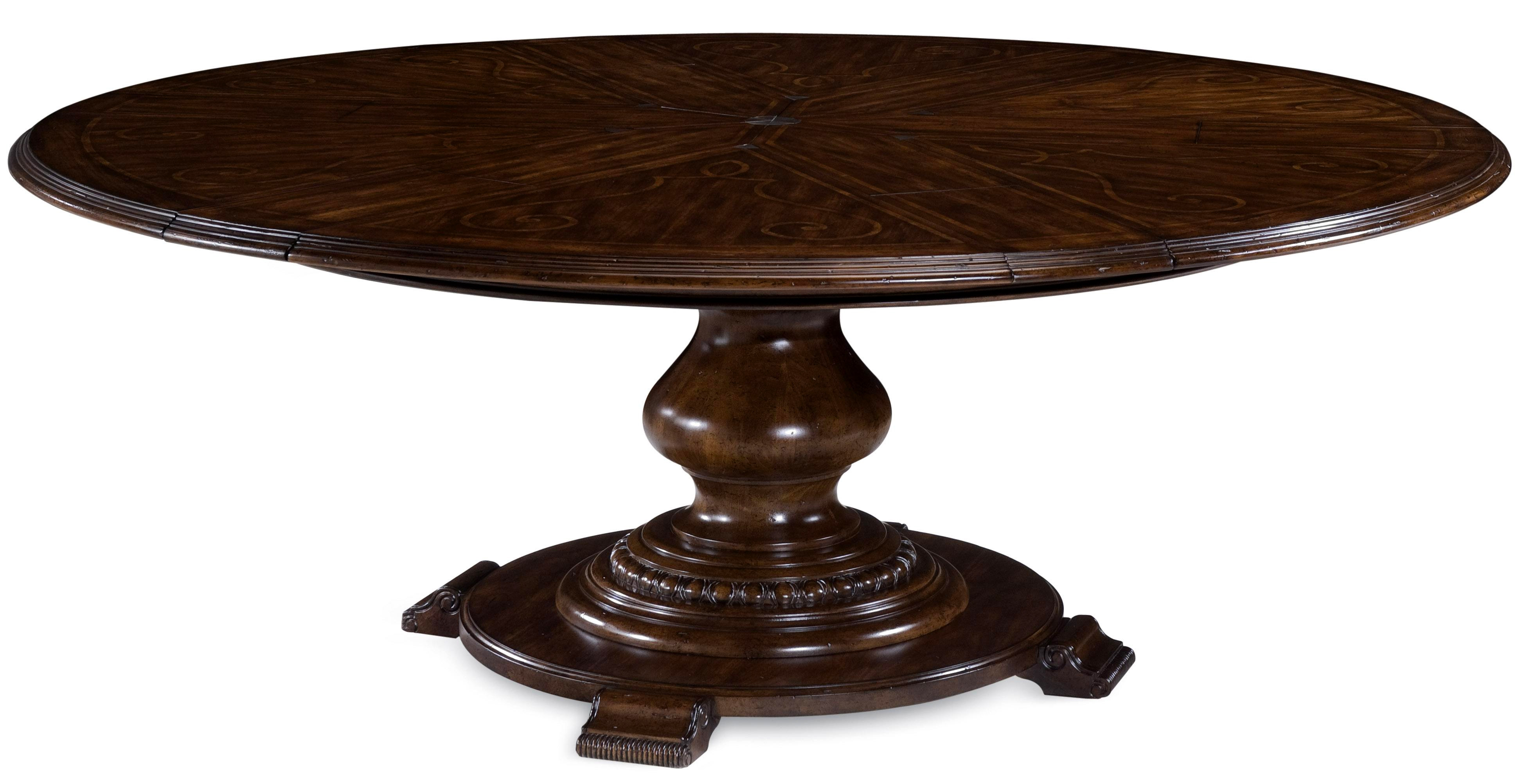 circle dining table kitchen table with leaf Round Glass Top Dining Table