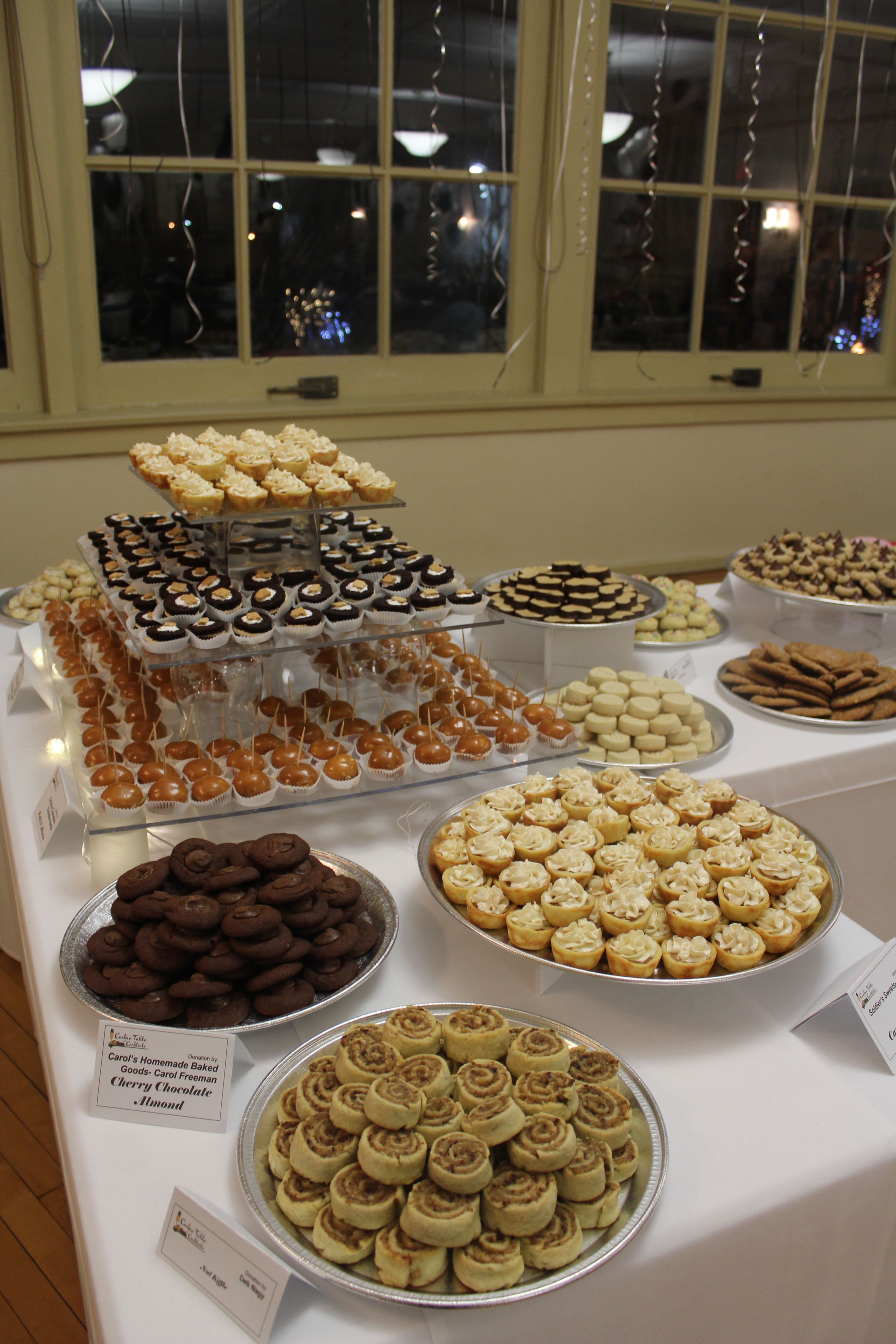 Tolle Desserts Cookie Table Cocktails 2017 Mahoning Valley Historical Society