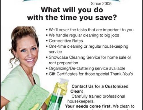 Windsor, Ontario, Housekeeping Newsletter, Spring 2013 - Maid in Windsor