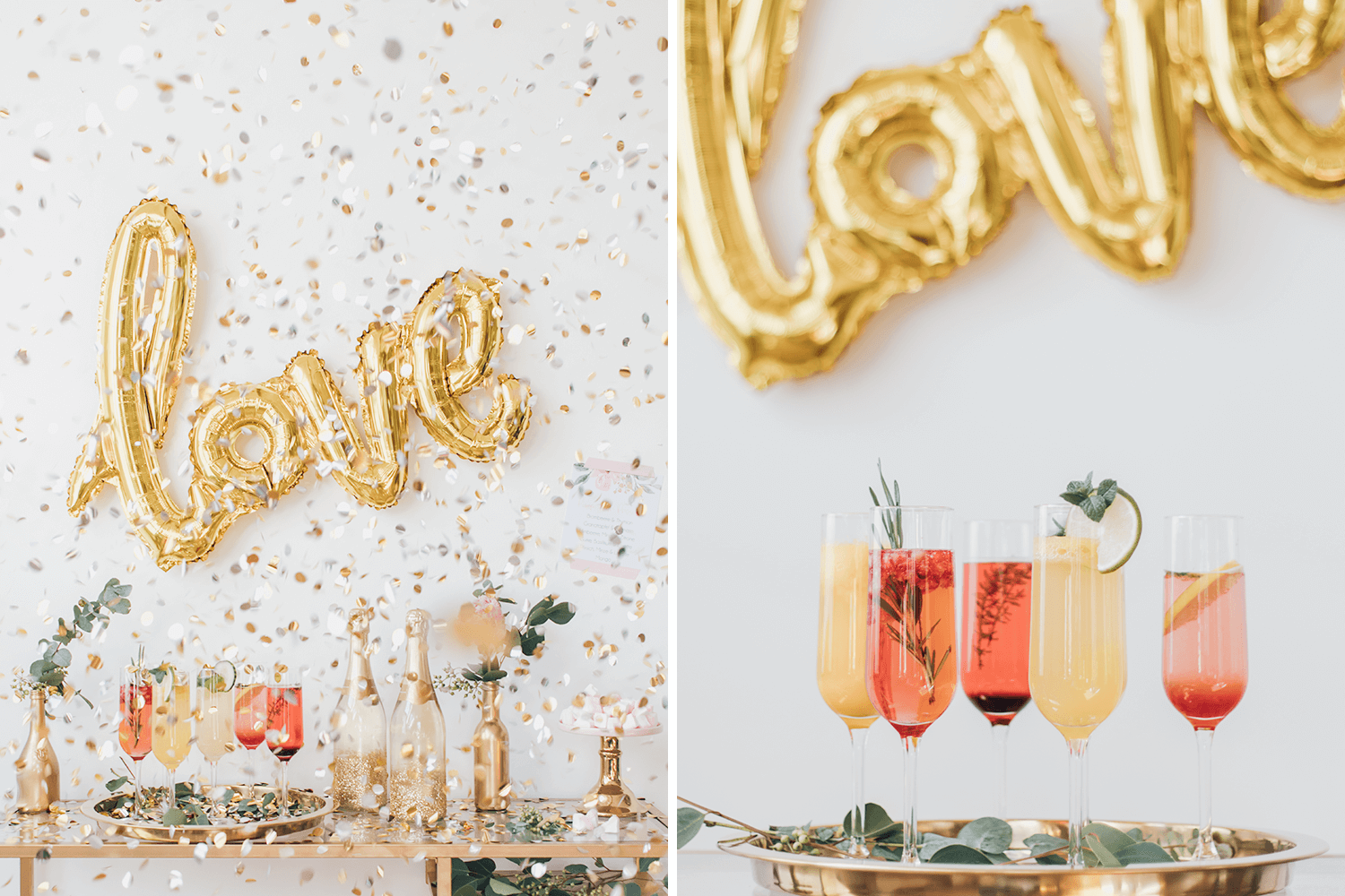 Diy Anleitungen Pimp Your Prosecco Bar Die Leckersten Rezeptideen Maid Of Honor