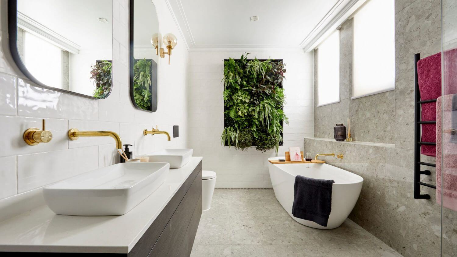 Freshen Up Your Dated Bath With New Bathroom Trends For 2019 Maid Sailors