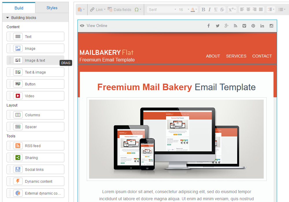 9 Best HTML Email Template Editors in Email Marketing Platforms