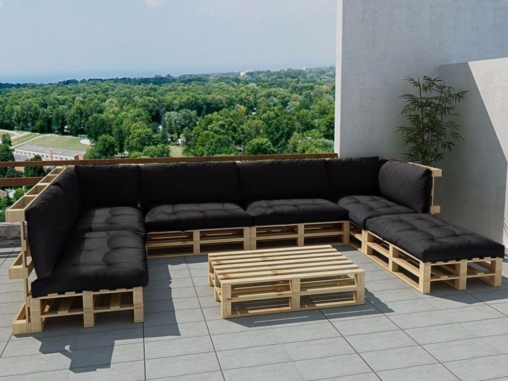 Salon De Terrasse Palette | Torpoon Home Creation Terrasse En ...