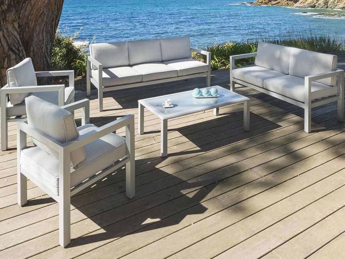 Salon De Jardin Aluminium Hesperide | Hesperide Table Nice Table ...