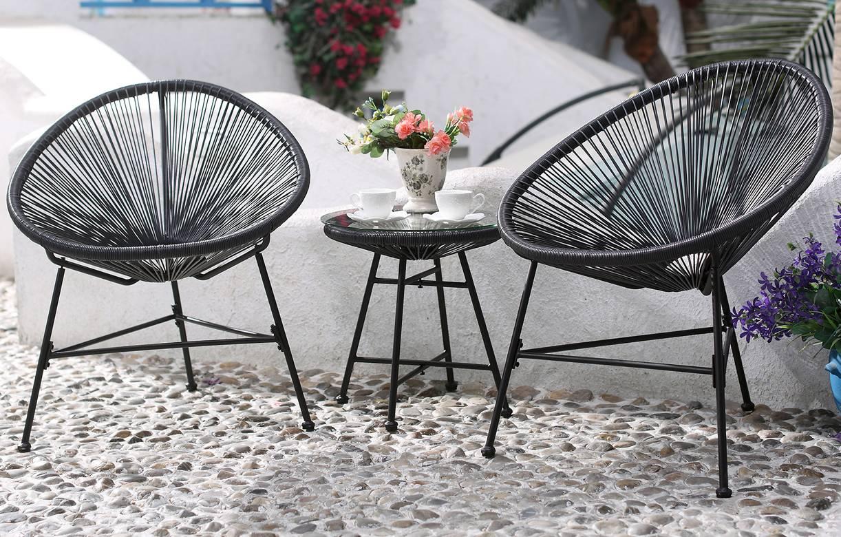 Awesome Salon De Jardin Fil Plastique Ideas - House Design ...