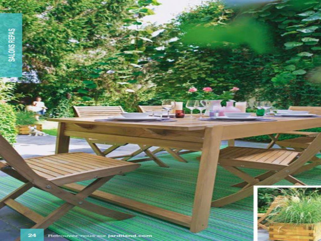 Mobilier De Jardin Jardiland | 26 Charmant Table De Jardin Aluminium ...