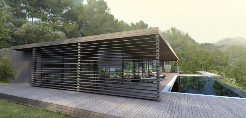 Terrasse En Bois Maison Moderne