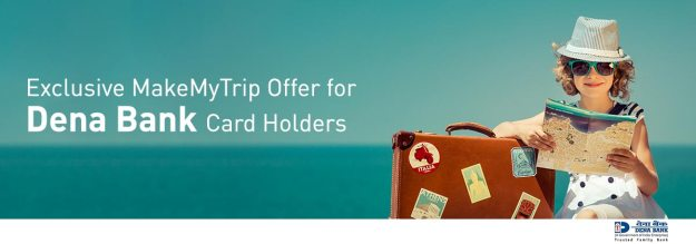 Makemytrip Dena Bank Offer