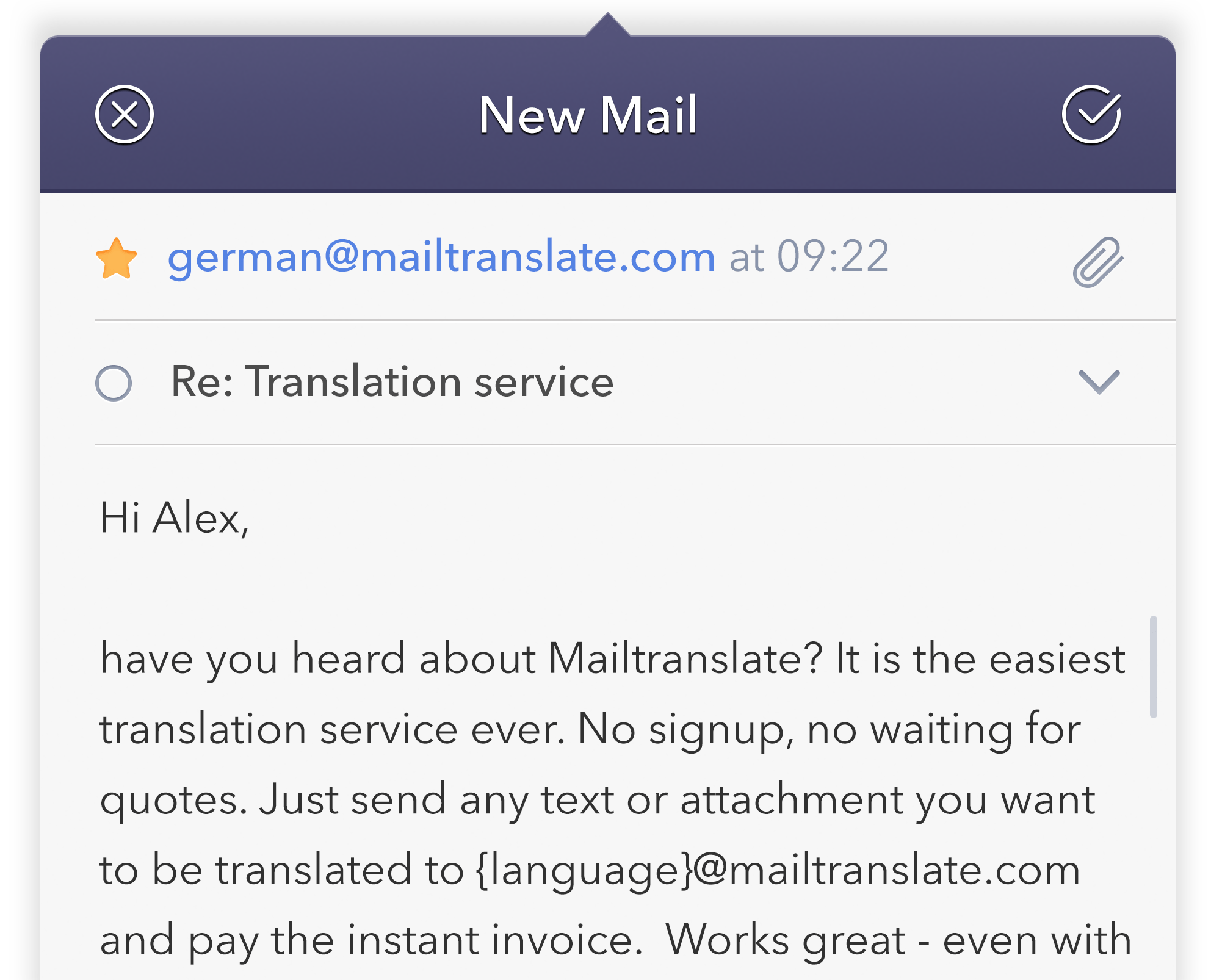 Sallys Türkische Küche Amazon Mailtranslate The Professional Translation Service For Your Inbox