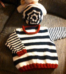 SharonStripedSweater