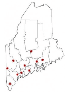 Maine Regional Chapters Meeting Places