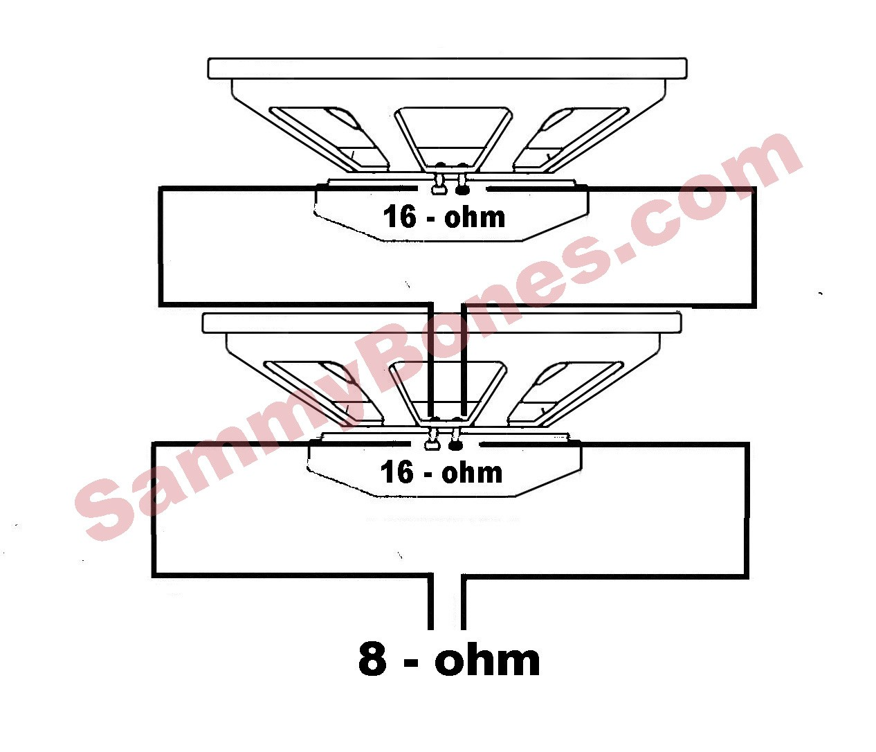 4 ohm guitar speaker wiring diagram