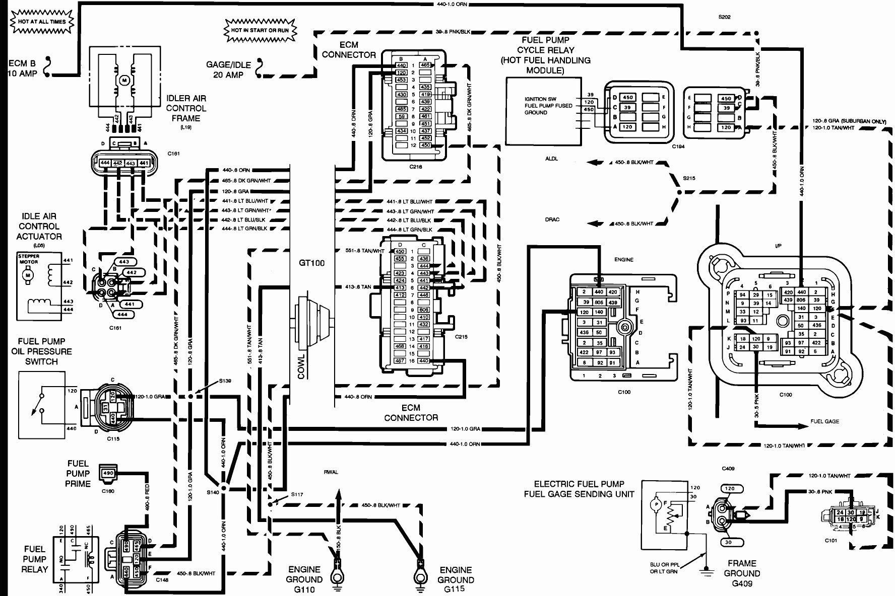 typical automotive wiring diagram