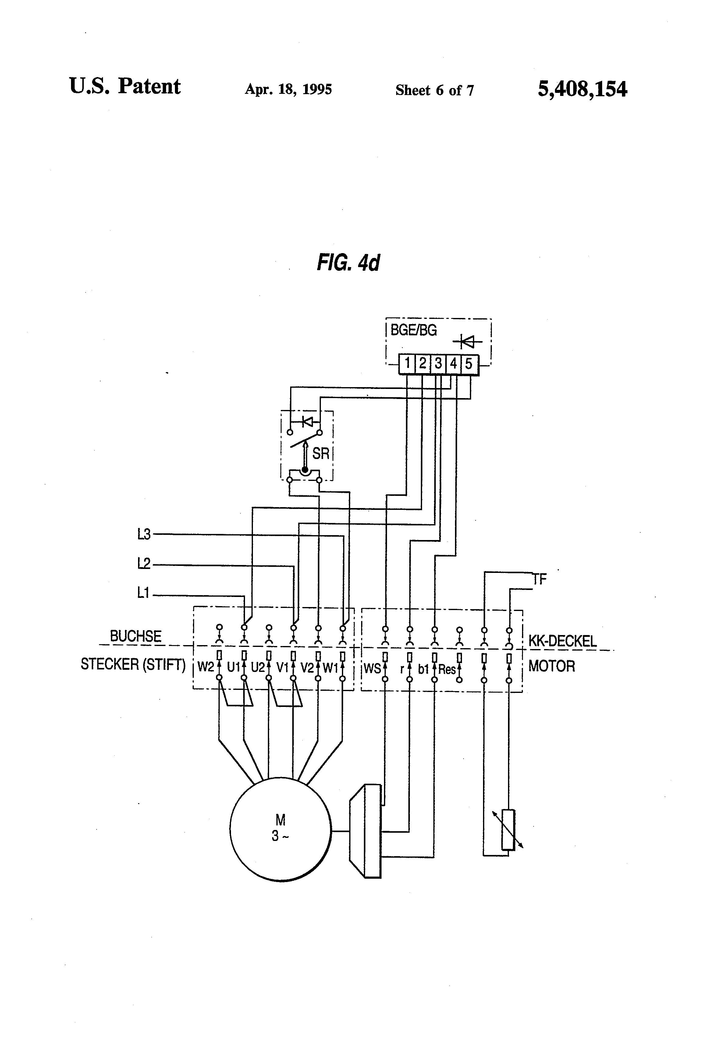 thread wiring new motor