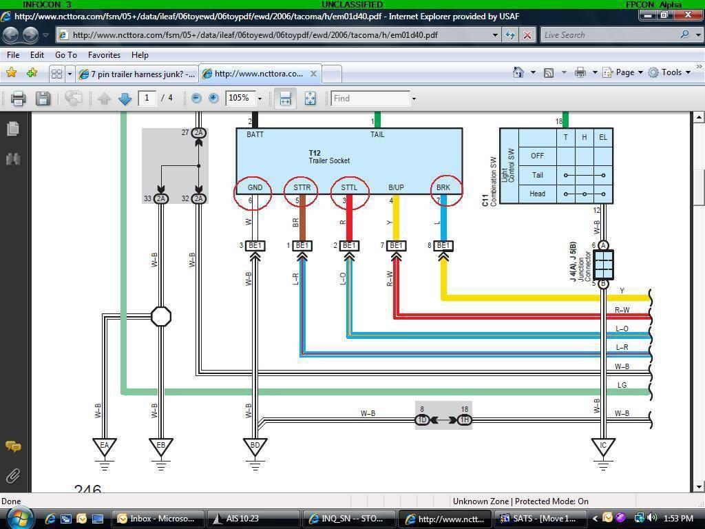05 Toyota Tundra Wiring Diagram Auto Electrical 2005 Diagrams