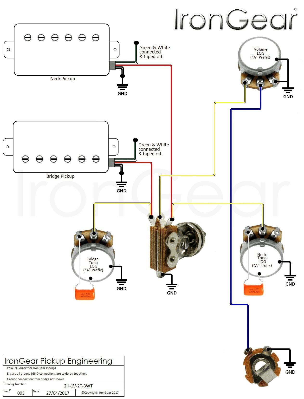 iron gear wiring diagrams