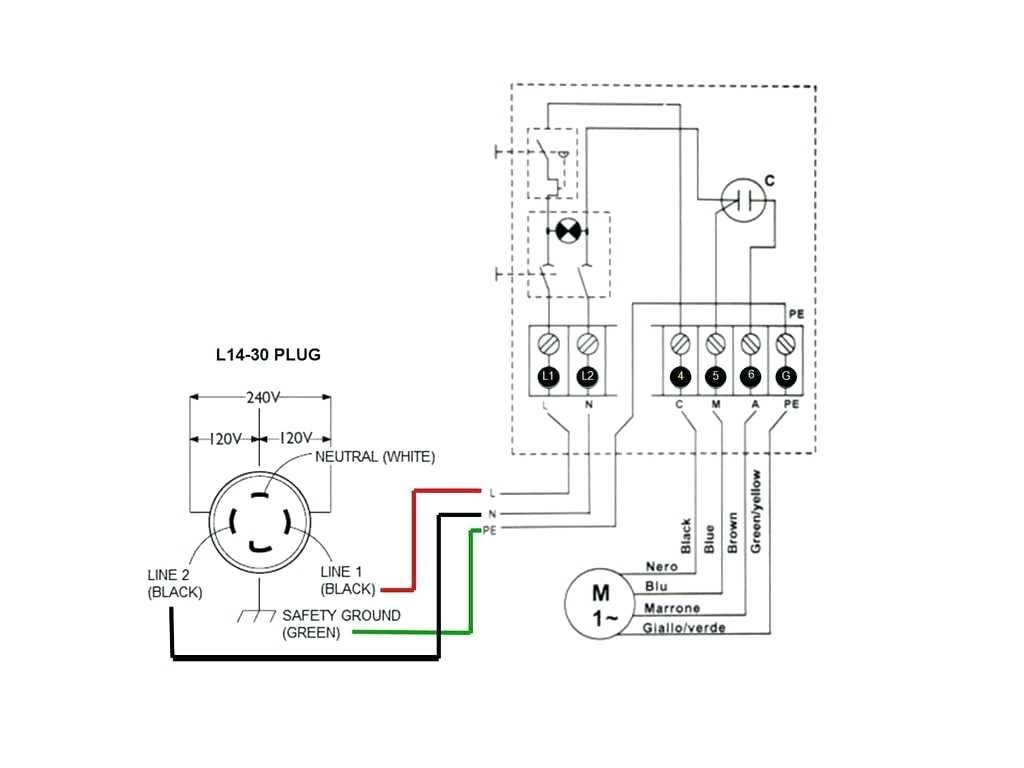 4 wire 220 to 3 wire 220 diagram