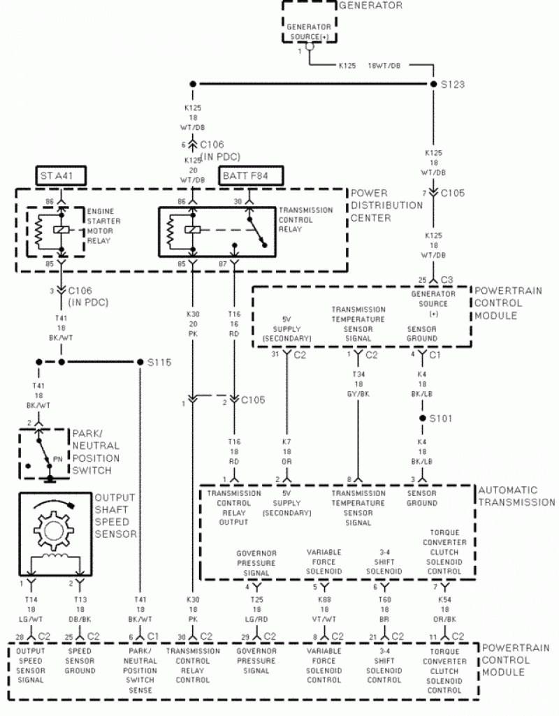 dodge caravan wiring computer diagram