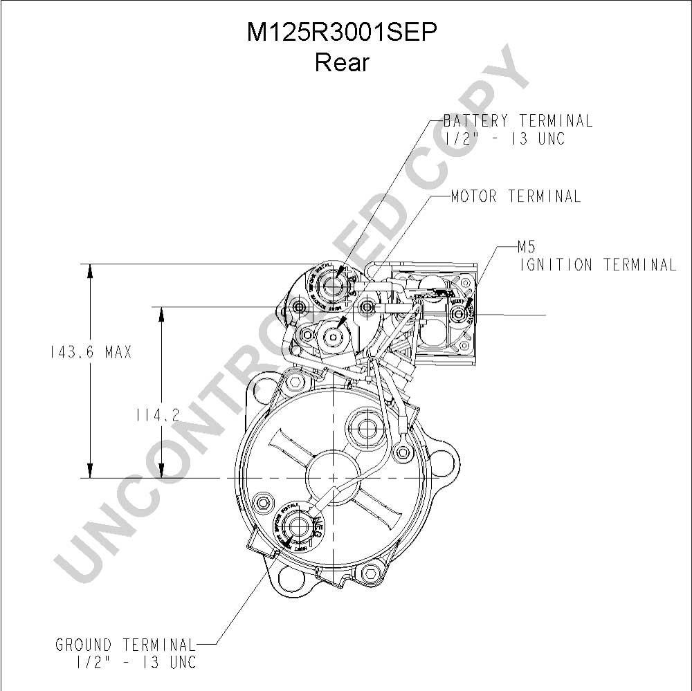 prestolite alternator wiring diagram 24v