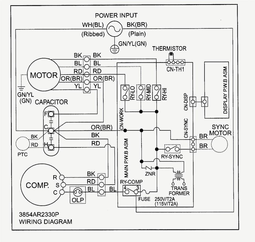 dual start capacitor wiring
