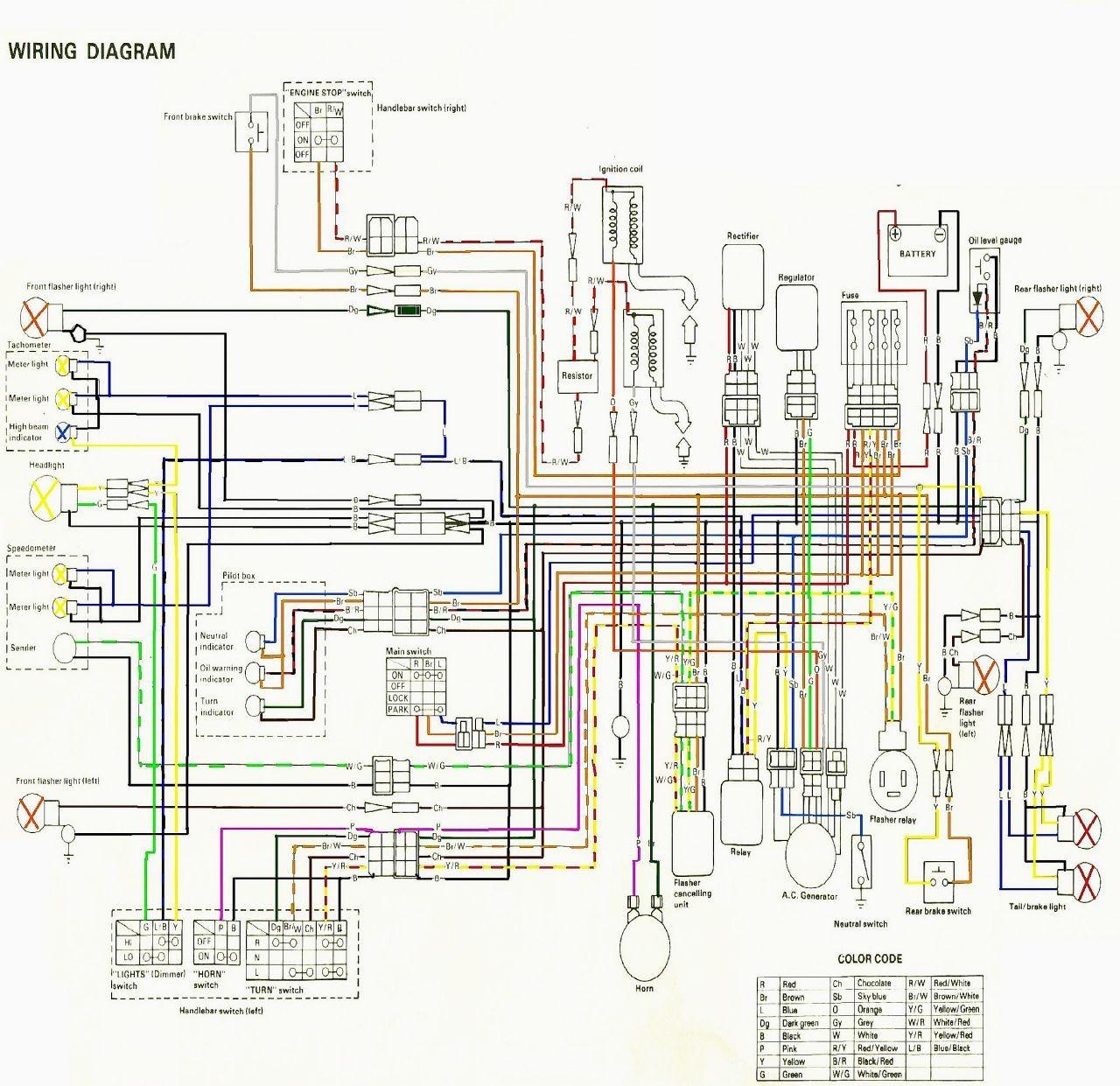 Yamaha Banshee Wiring Harness Diagram | Wiring Diagram on