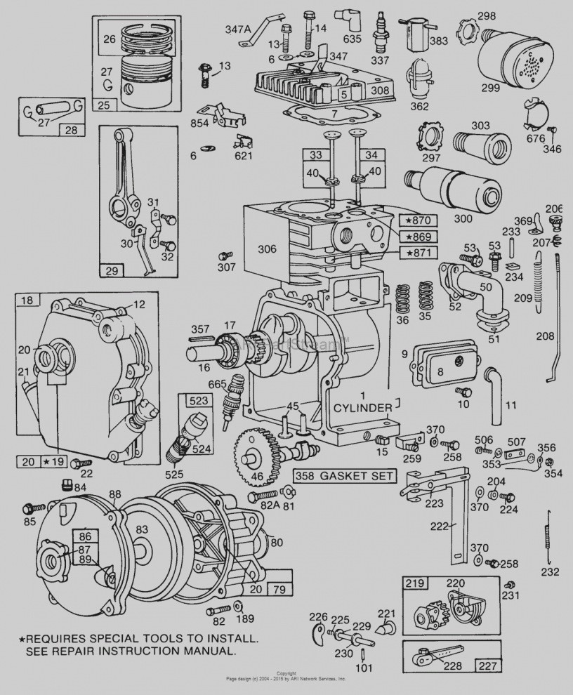 briggs and stratton wiring diagram 12hp