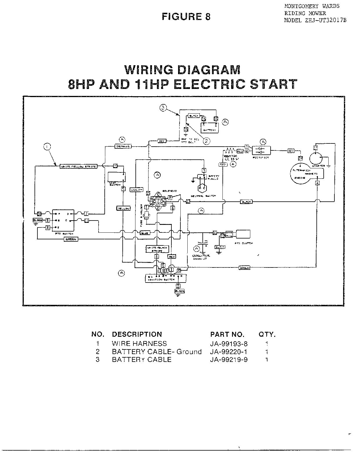 11 hp briggs wiring diagram