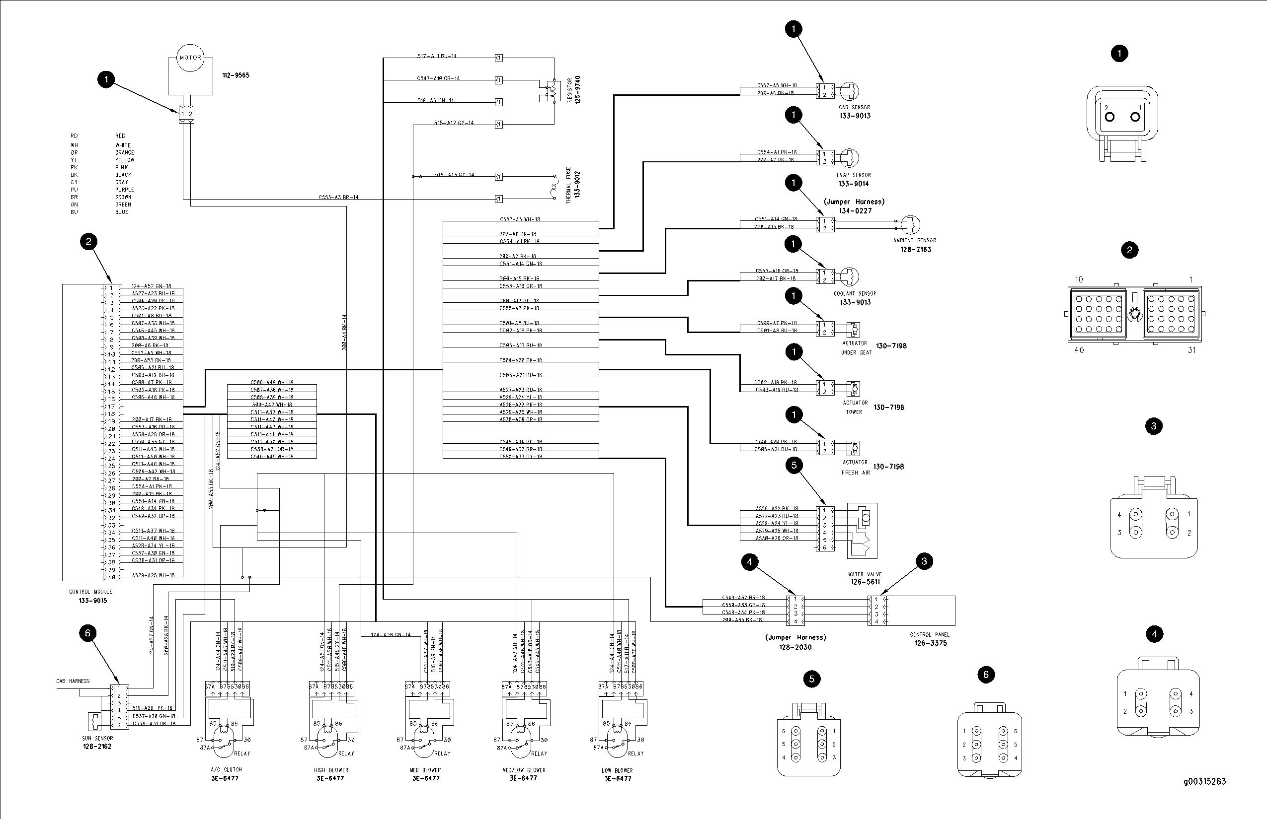 c15 cat ecm pin wiring diagram