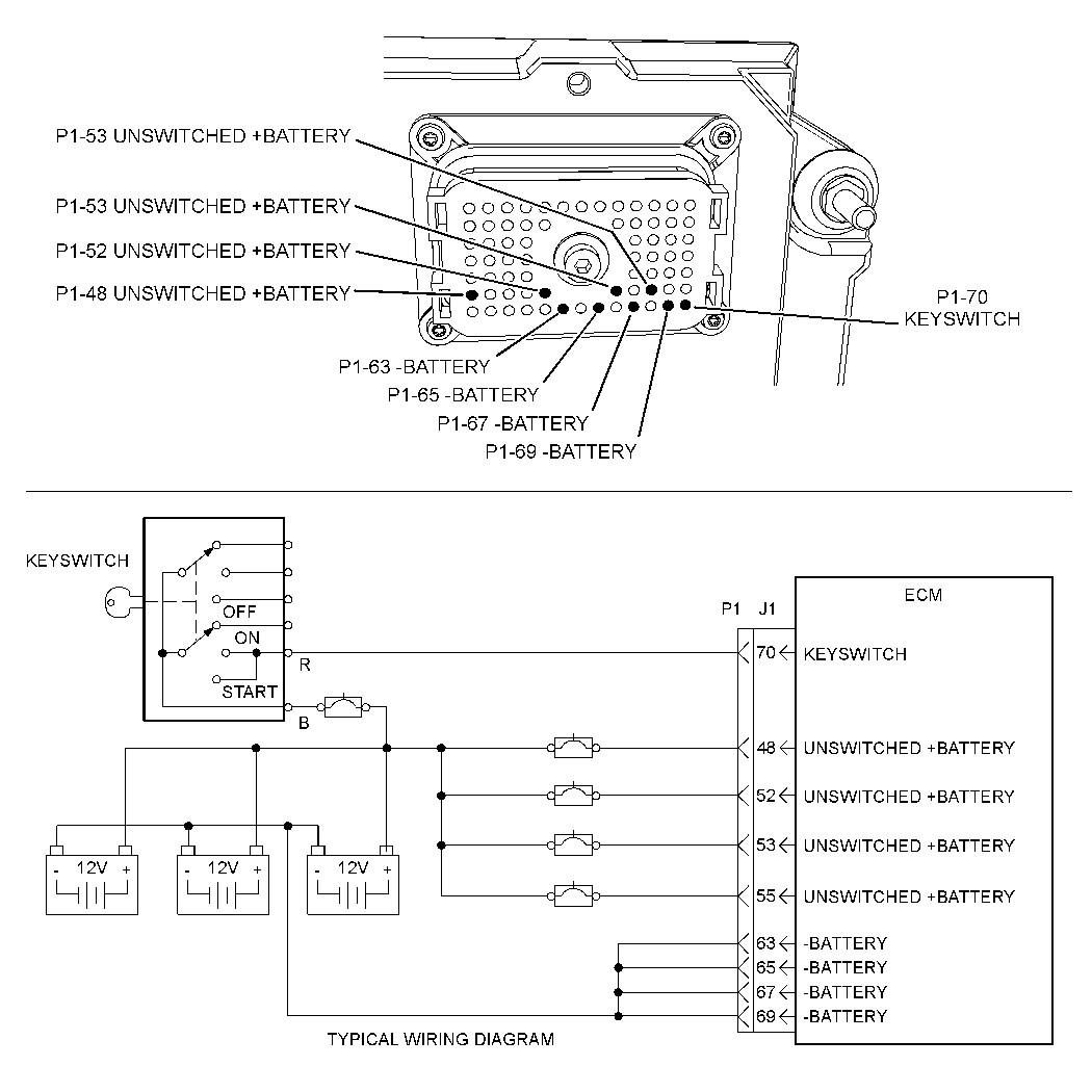 cat c12 wiring diagram 70 pin