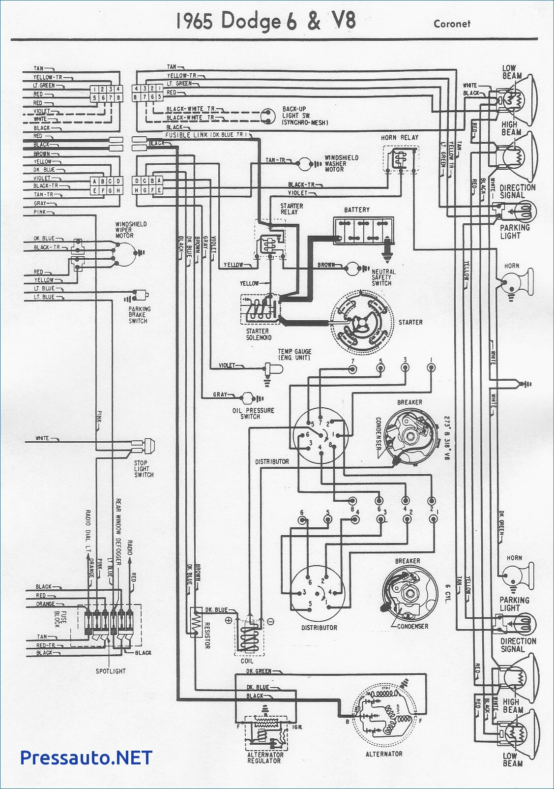 1953 willys jeep wiring diagram
