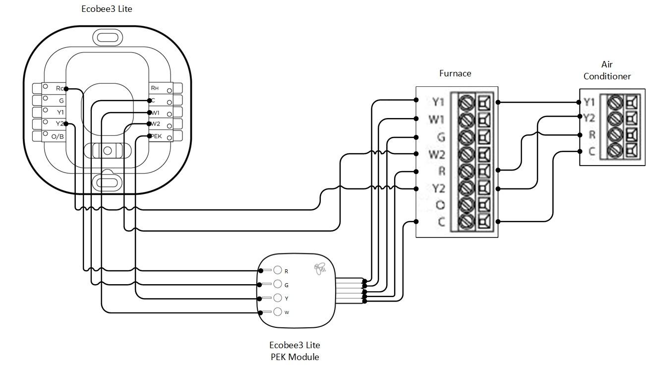 ecobee 3 wiring diagram