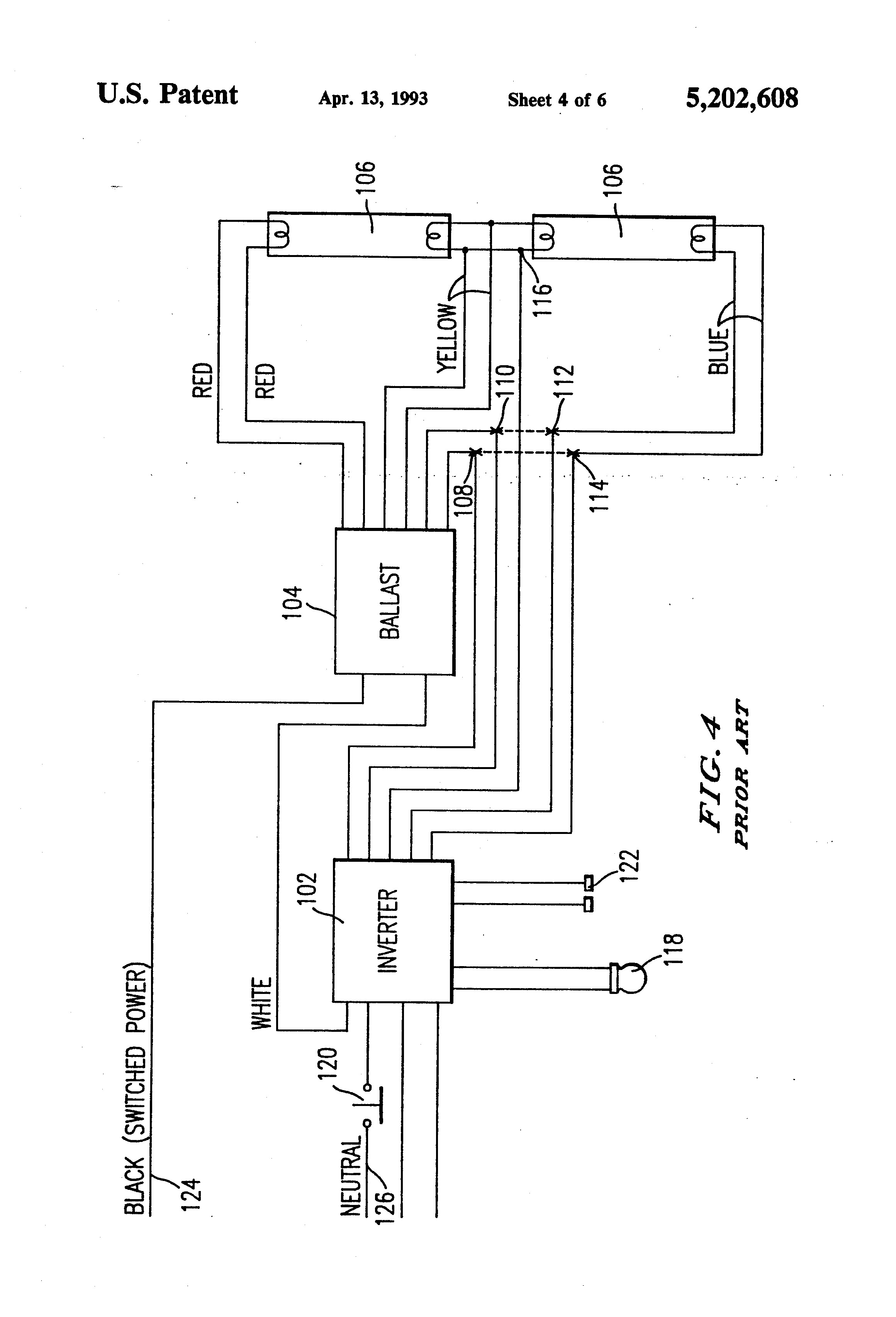 bodine b50st emergency ballast wiring diagram