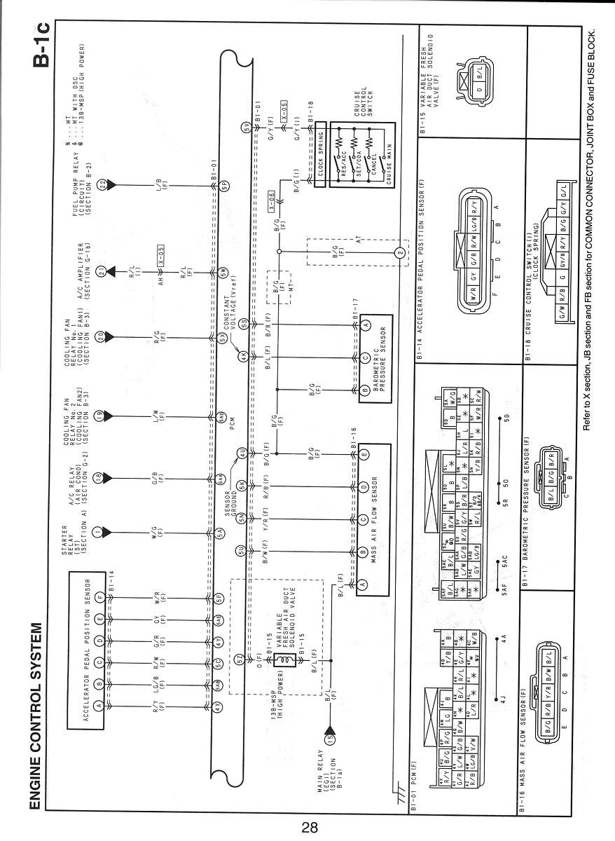 3 wire bedradings schema mass air flow