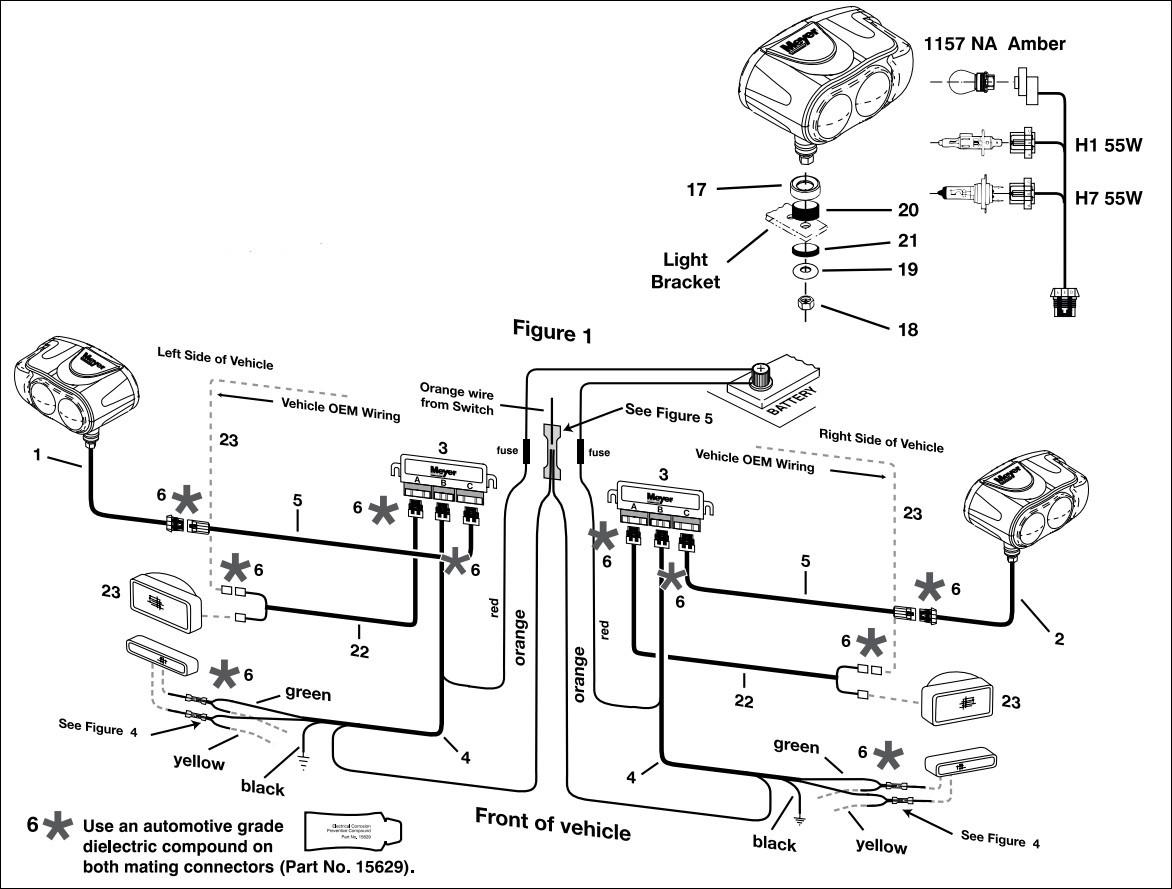 meyer plow wiring diagram 68