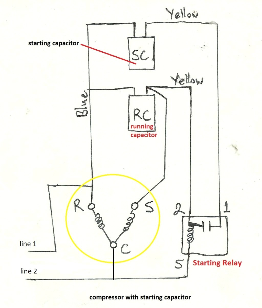 baldor single phase motor capacitor wiring