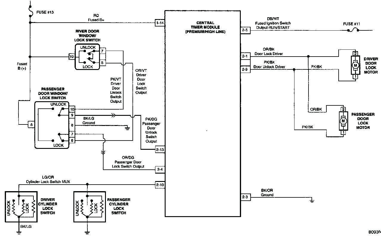 1979 corvette door lock wiring diagram