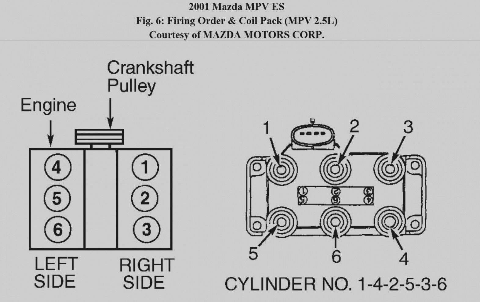 302 engine spark plug wire diagram