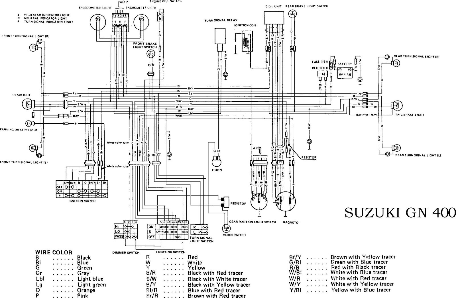 suzuki fa50 wiring diagram