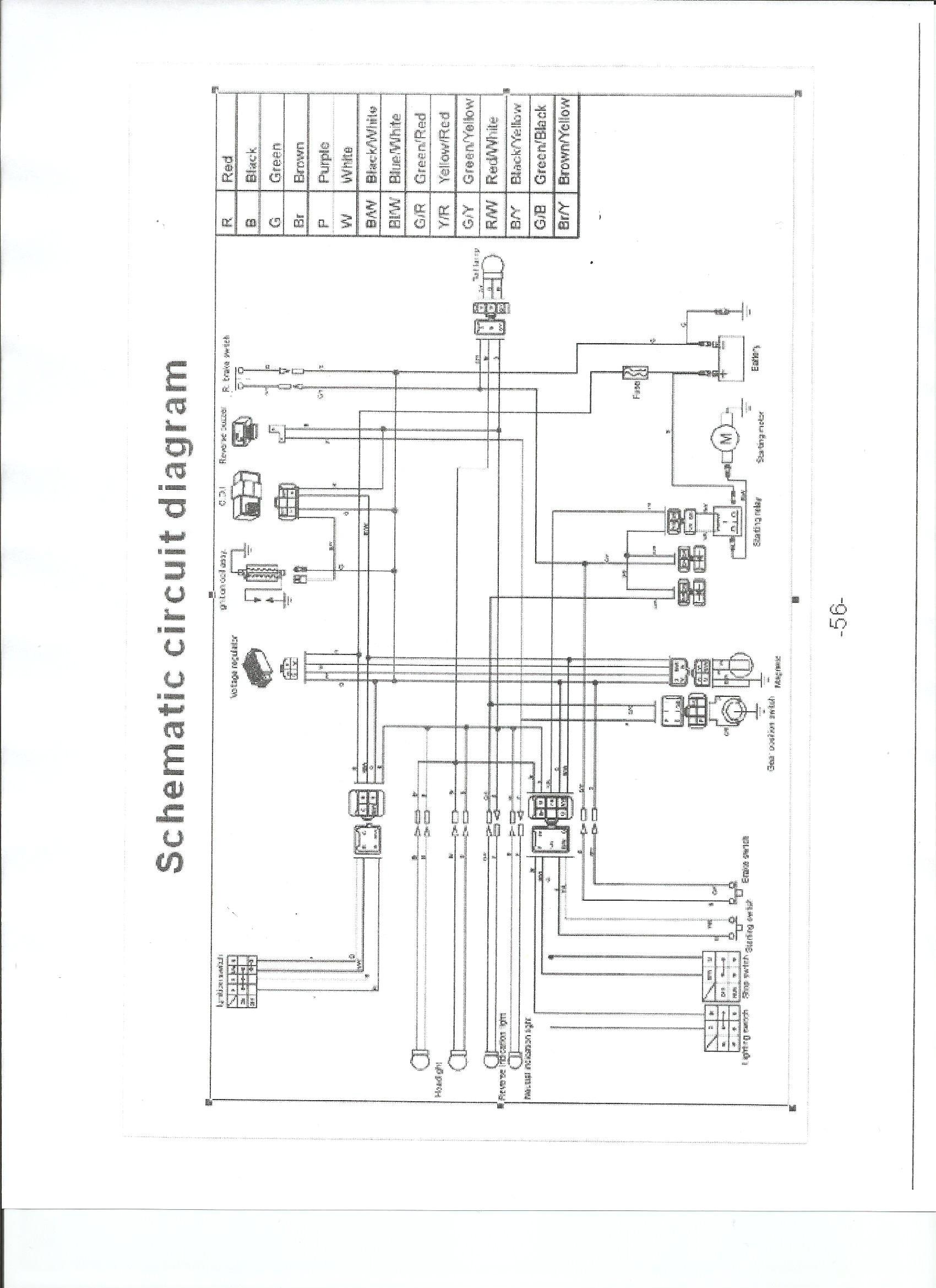 wiring diagrams for sunl quad 110
