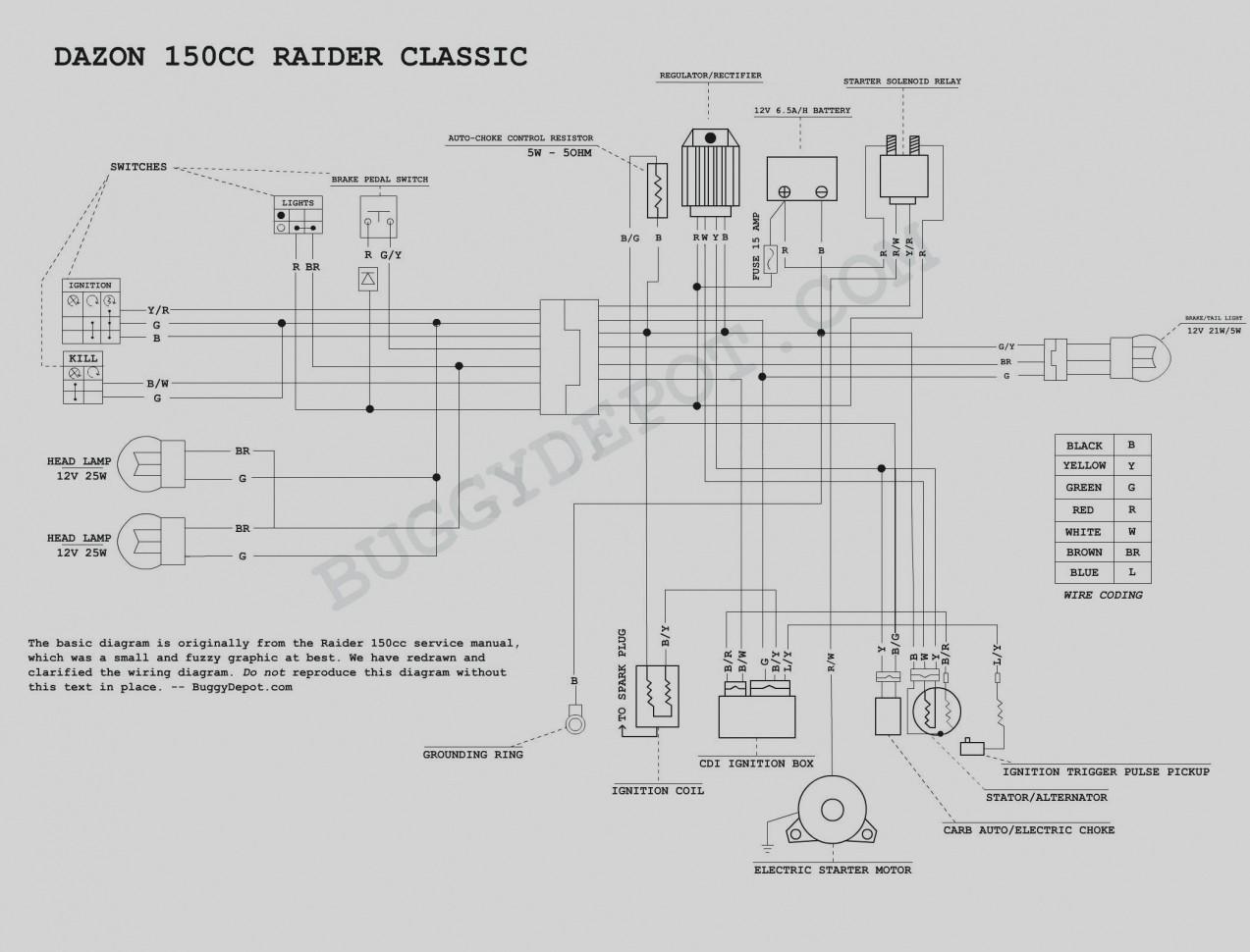 tao 125cc 4 wheeler wiring diagram