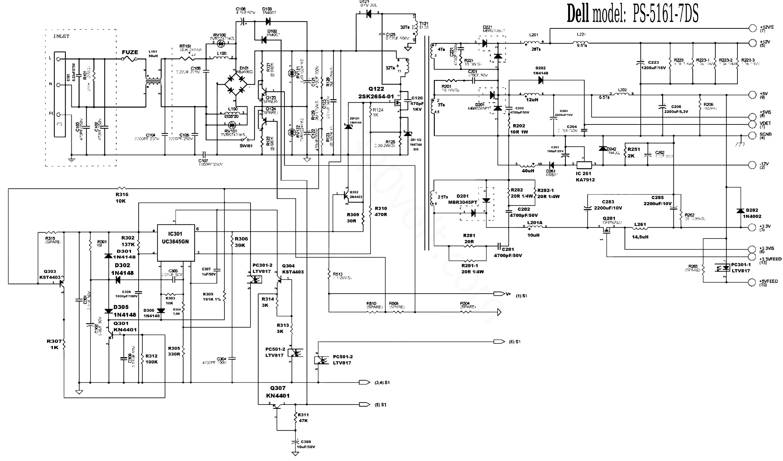 switching power supply schematic diagram power supply repair