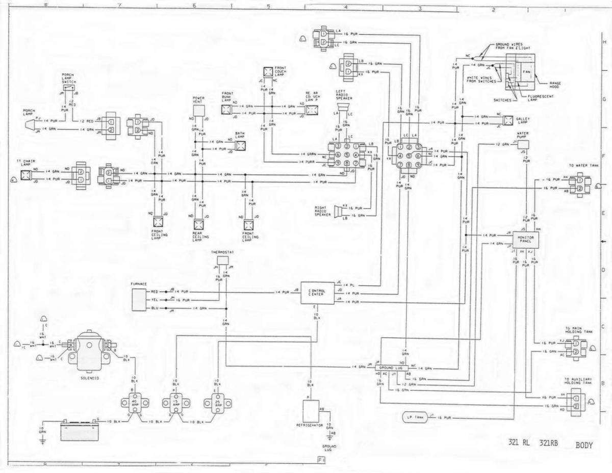 1978 winnebago wiring diagram schematic
