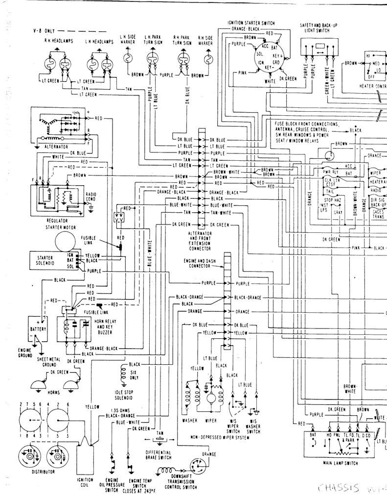 69 impala interior wiring diagram