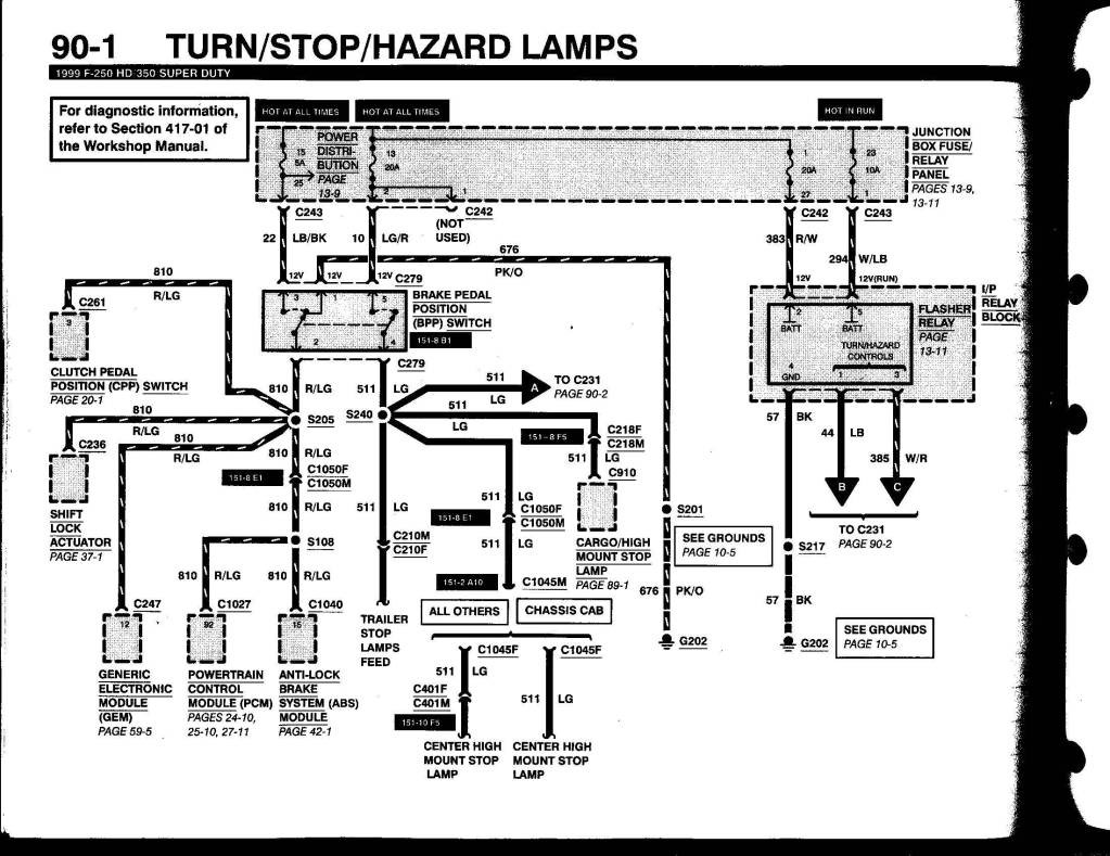 sterling brake light wiring diagram