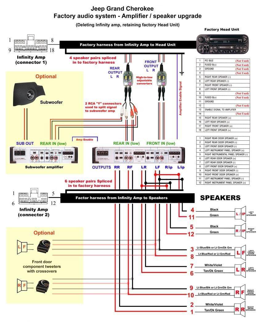 infinity speaker wiring diagram