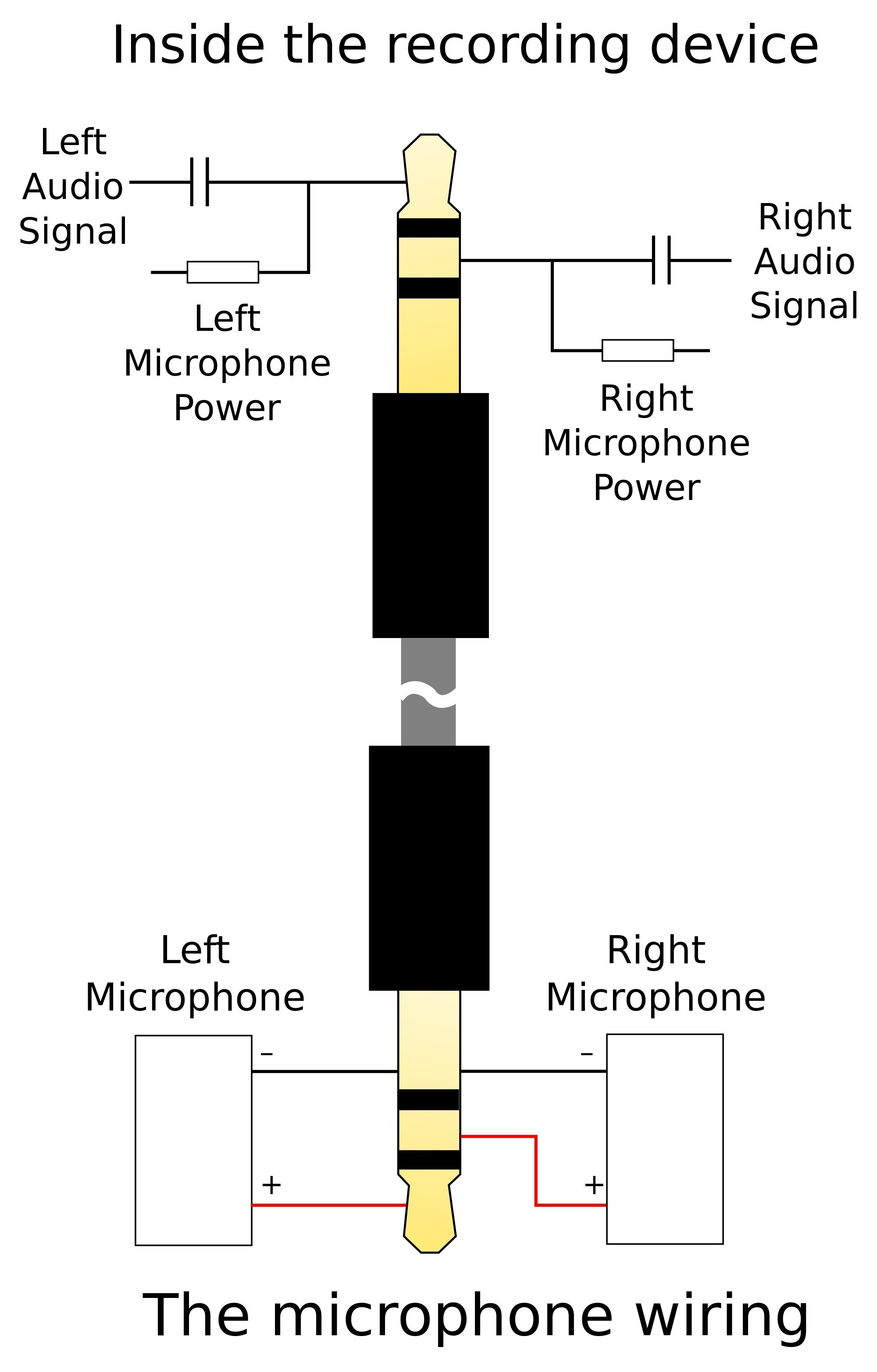 mono plug to rca audio jack wiring diagram