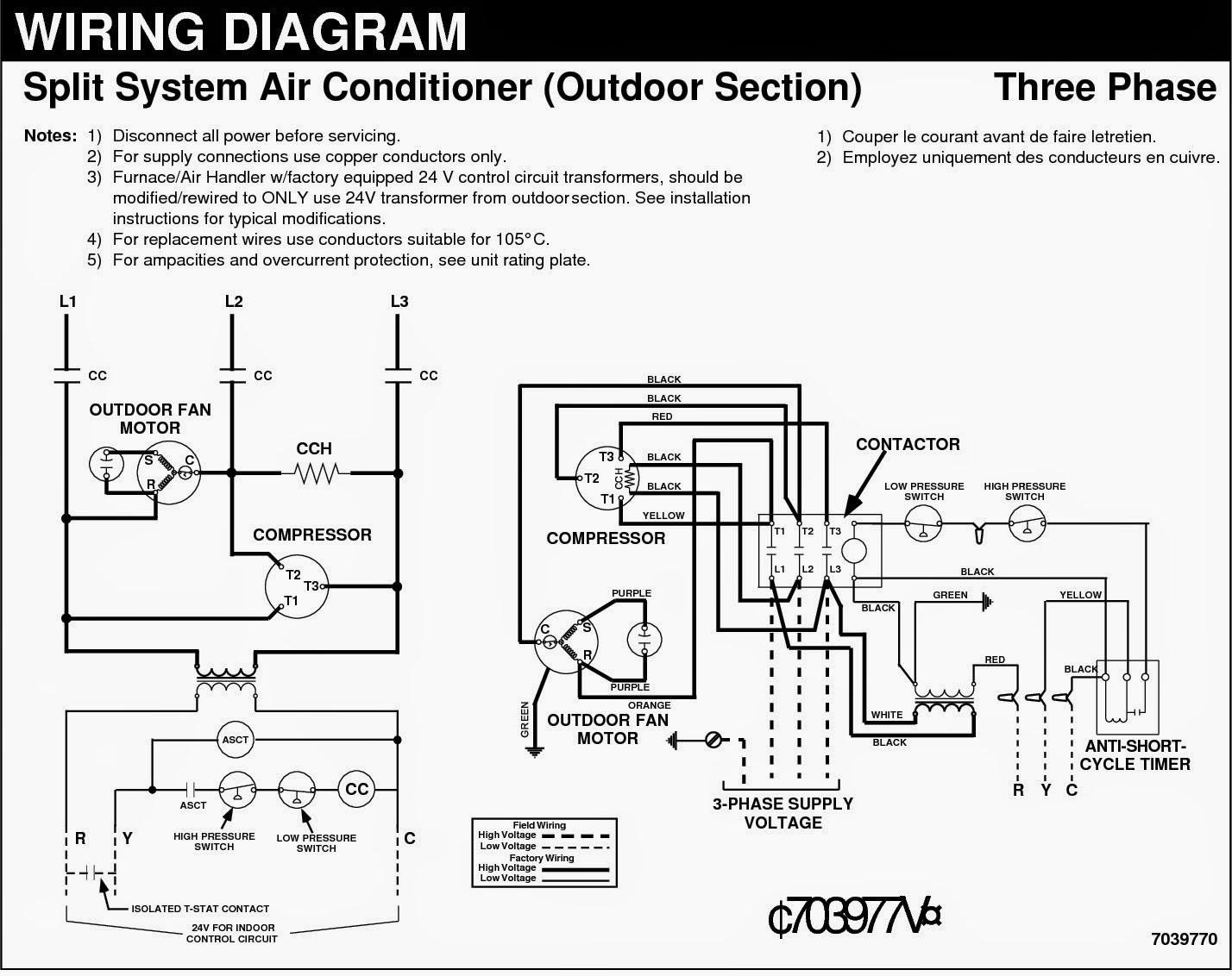 Split Ac Heating Wiring Diagrams