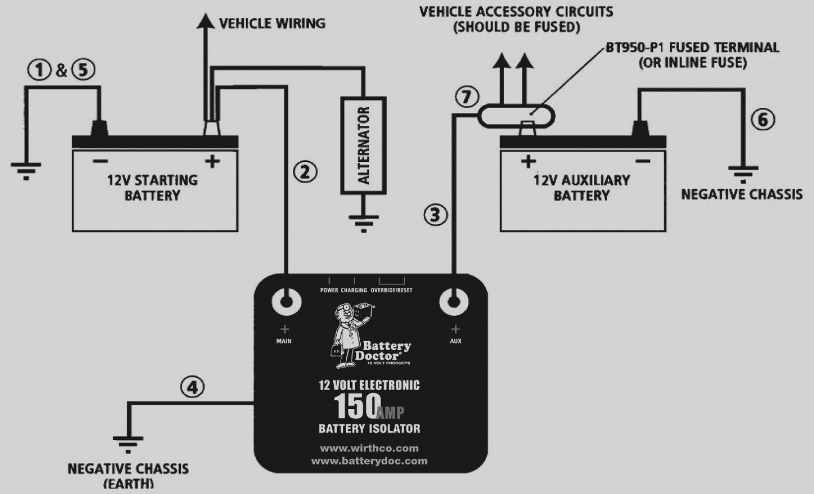 wiring a winch to 12 volt battery