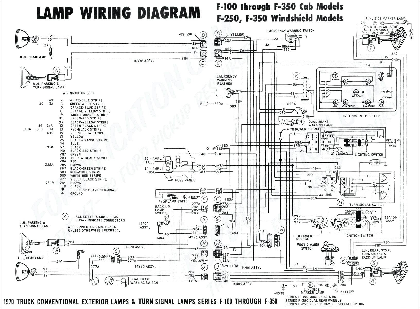 wire diagram for tail light