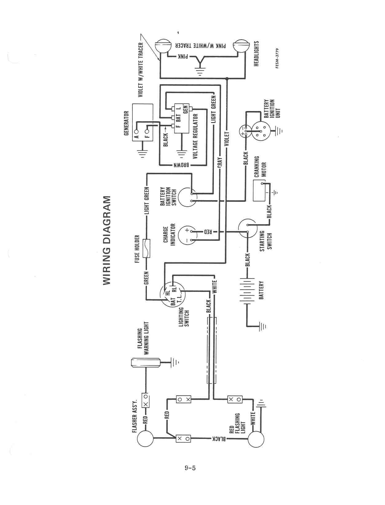 for electronic ignition wiring diagram for ih